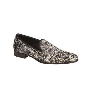 Mezlan Leno Art Deco Fabric Loafers Image