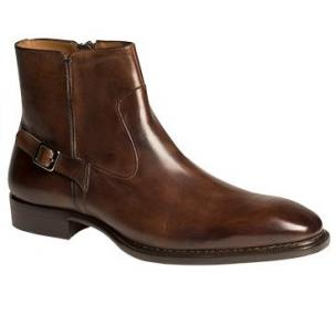 Mezlan Natale Side Zipper Boot Cognac Image