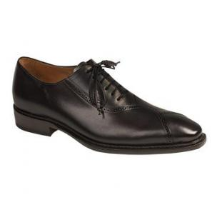 Mezlan Ortega Hand Burnished Oxfords Graphite Image