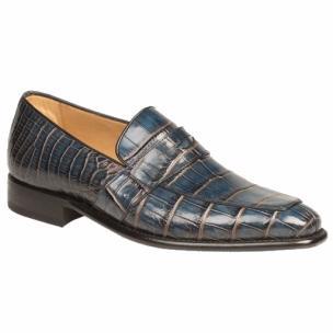 Mezlan Paterna Alligator Loafers Jeans / Camel Image