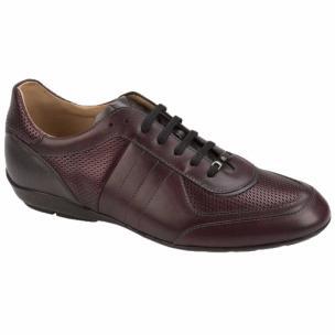 Mezlan Redon Fashion Sneakers Burgundy Image