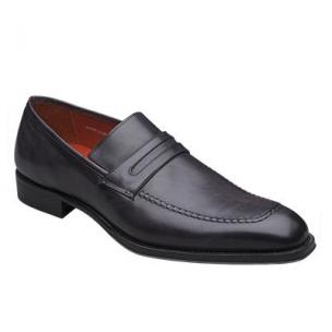 Mezlan Riane Penny Loafers Graphite Image