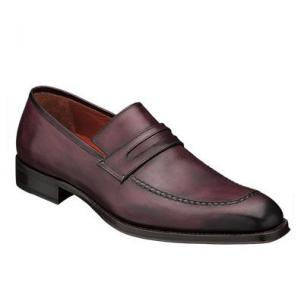 Mezlan Riane Penny Loafers Grape Image