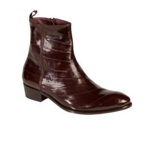Mezlan Rochelle Eel Zipper Boots Brown Image