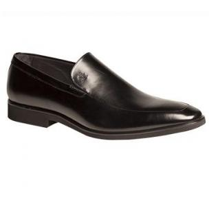Mezlan Selva French Calfskin Loafers Black Image