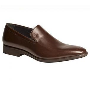 Mezlan Selva French Calfskin Loafers Brown Image
