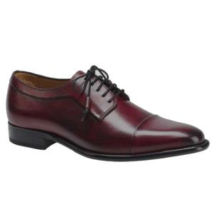 Mezlan Tarifa Cap Toe Shoes Burgundy Image