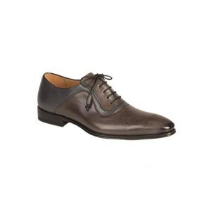 Mezlan Tito Medallion Toe Oxfords Graphite Image