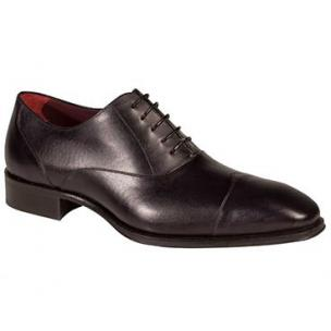 Mezlan Toulouse Wingtip Cap Toe Oxfords Graphite Image