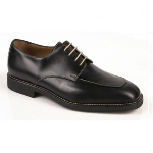 Michael Toschi Calaveras Split Toe Lace Up Black Gent Image