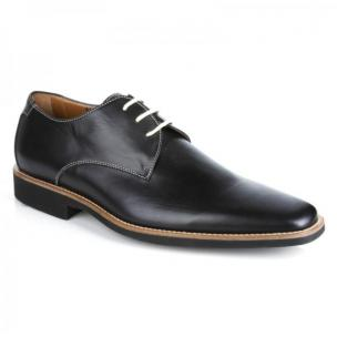 Michael Toschi Casanova Plain Toe Shoes Black Image