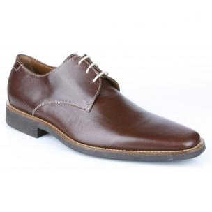 Michael Toschi Casanova Plain Toe Shoes Brown Image