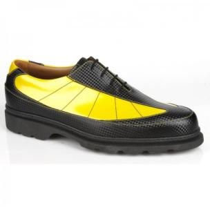 Michael Toschi G6 Golf Shoes Black / Yellow Image