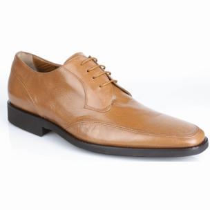 Michael Toschi Lorenzo Moc Toe Shoes Saddle Image
