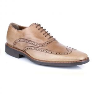 Michael Toschi Luciano Wingtip Brogues Old Saddle Image