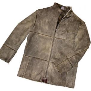 Michael Toschi Cacciatore Lambskin Shearling Coat Image