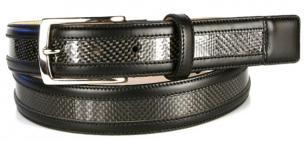 Michael Toschi Carbon Fiber Belt Black Image