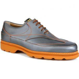Michael Toschi GX Golf Shoes Steel / Orange Sole Image