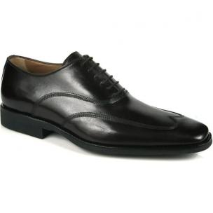 Michael Toschi Luciano Wing Tip Shoes Black Image