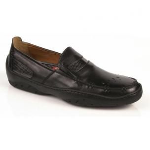 Michael Toschi Mach Driving Shoes Black Nappa Image