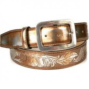 Michael Toschi 'Metal' Belt Copper Image