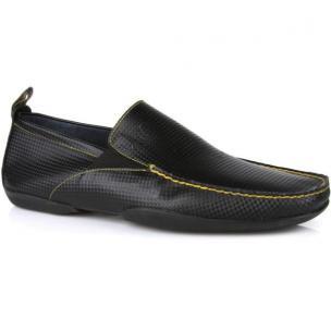 Michael Toschi Onda Driving Shoes Black Carbontech Image