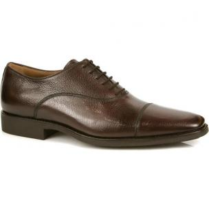 Michael Toschi Pietro Cap Toe Shoes Burgundy Image