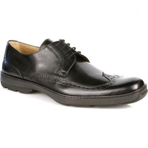 Michael Toschi Swing Lace Wing Tip Black Image