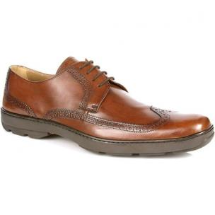 Michael Toschi Swing Lace Wing Tip Brown Image