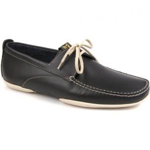 Michael Toschi Vela Boat Shoes Navy / White Image