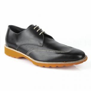 Michael Toschi SL2 Lace Up Shoes Black/ Orange  Image