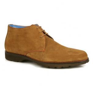 Michael Toschi SL800 Suede Chukka Boots Cinnamon Image