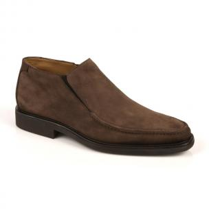 Michael Toschi Stefano Suede Loafers Chocolate Image