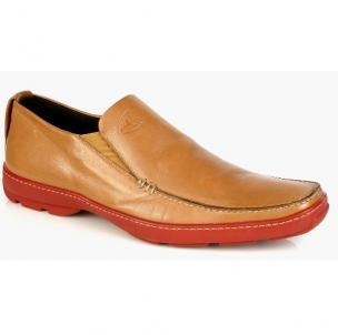 Michael Toschi SUV1 Tan Red Sole Image