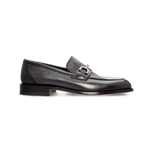 Moreschi 42366 Calfskin and Kangaroo Leather Loafers Dark Grey (SPECIAL ORDER) Image
