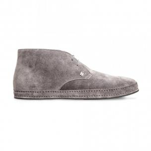 Moreschi 8001102 Suede Leather ankle boots Grey (SPECIAL ORDER) Image