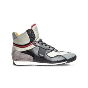 Moreschi MERIDA03 Multi-Leather high-top sneakers Black Image
