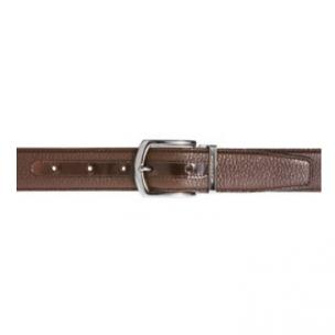 Moreschi Helsinky Grained Calfskin Belt Brown Image