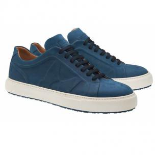 Moreschi Kos Nubuck Sneakers Navy Image