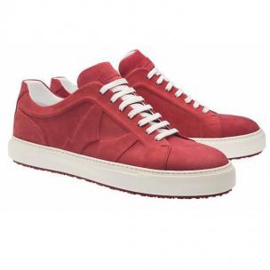 Moreschi Kos Nubuck Sneakers Red Image