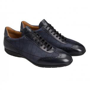 Moreschi 42247 Leather Sneaker Blue (SPECIAL ORDER) Image