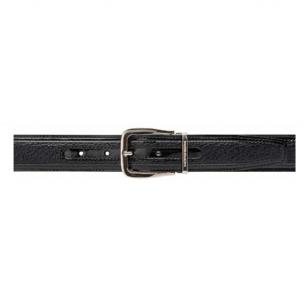 Moreschi Lione Peccary & Calfskin Belts Black Image