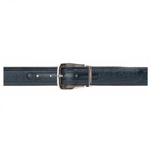 Moreschi Lione Peccary & Calfskin Belts Navy Image