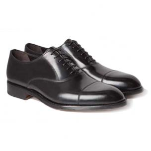 Moreschi New York Cap Toe Oxfords Black Image