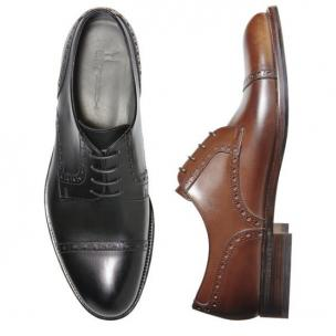 Moreschi Poznan Cap Toe Shoes  Image