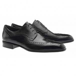 Moreschi Sheffield Wingtip Brogues Black Image