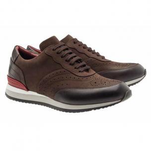 Moreschi Sparta Nubuck Sneakers Brown Image