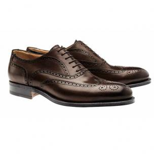 Moreschi Windsor Goodyear Welted Wingtip Brogues Brown Image