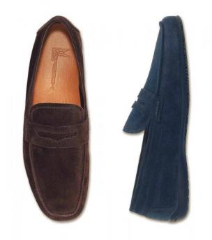 Moreschi Cancun Suede Driving Shoes Image