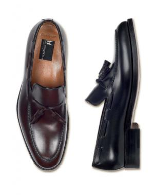 Moreschi Manchester Goodywear Welted Tassel Loafers Image